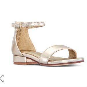 Nina gold Hidi T sandal